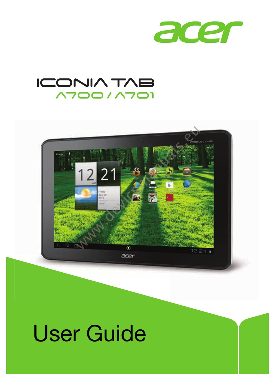 Acer iconia tab a210 driver download for windows