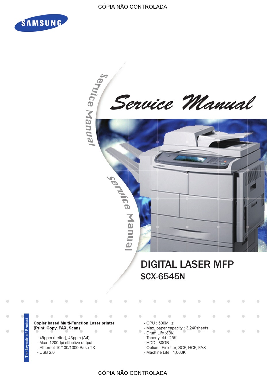 Samsung Scx 6545n Service Manual Pdf Download Manualslib