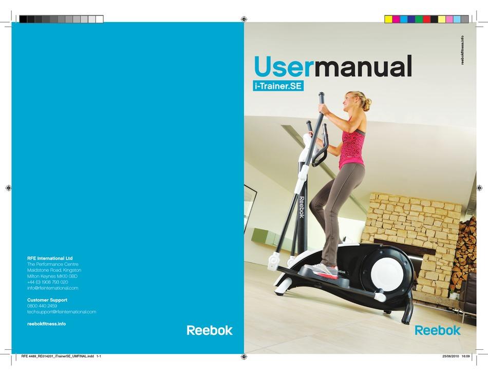 académico Fracción Papá  REEBOK I-TRAINER.SE USER MANUAL Pdf Download   ManualsLib