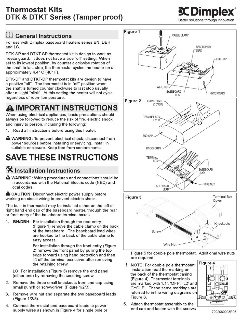 Dimplex Dtk Series Installation