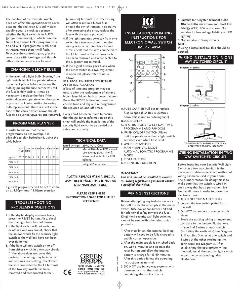 K S Switch Wiring Diagram   Fusebox and Wiring Diagram circuit ...