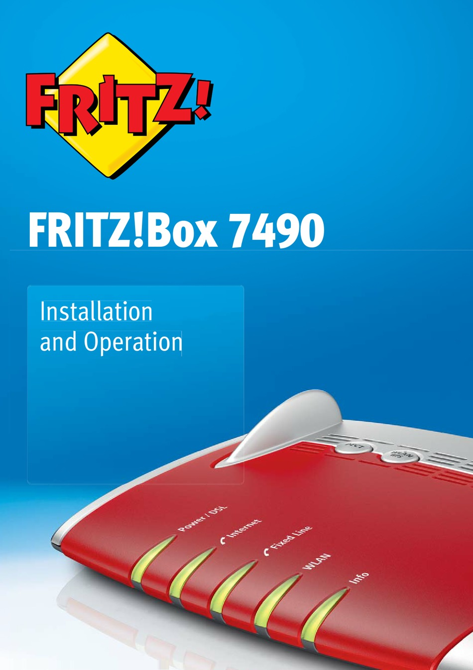 FRITZ BOX 20 INSTALLATION AND OPERATION MANUAL Pdf Download ...