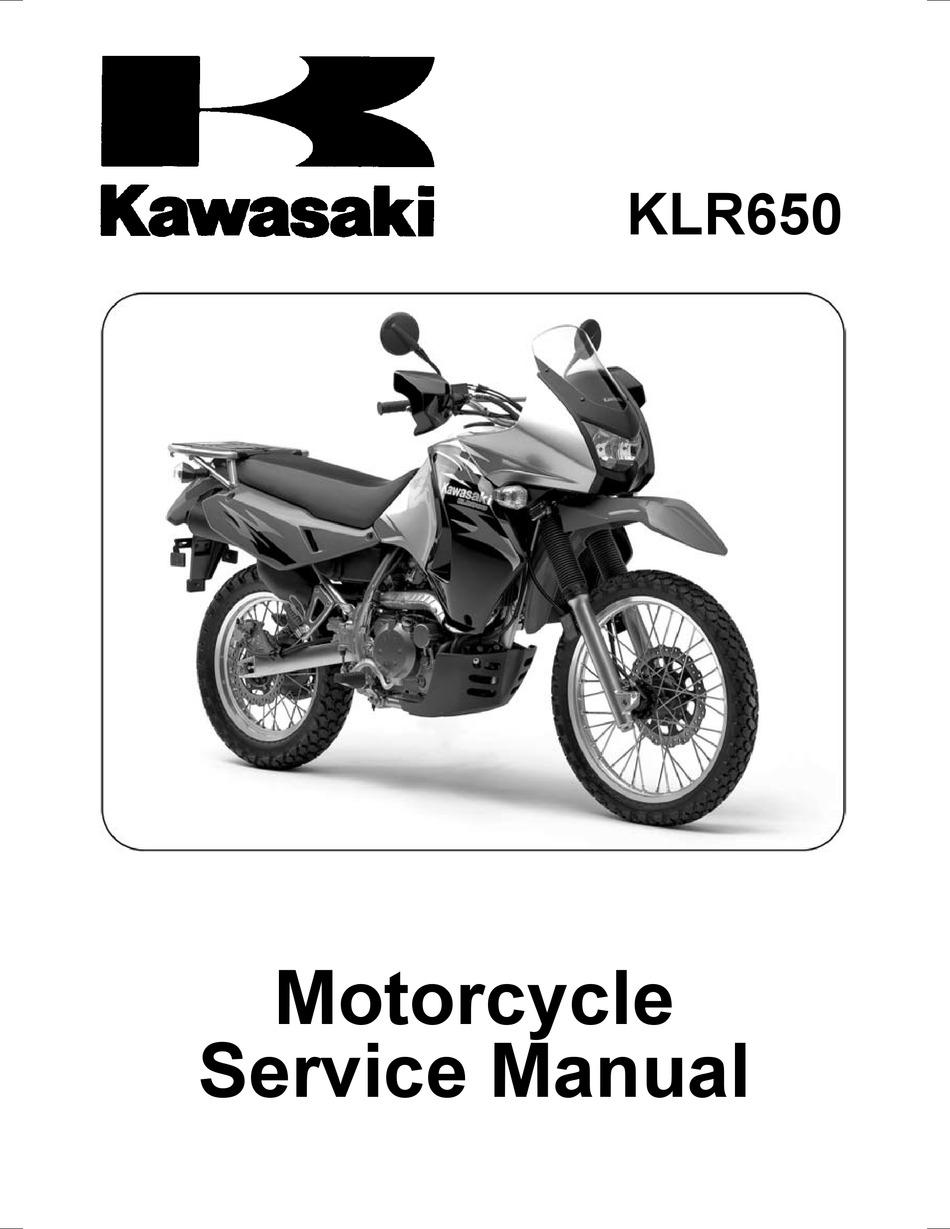 Kawasaki Klr650 Service Manual Pdf Download Manualslib