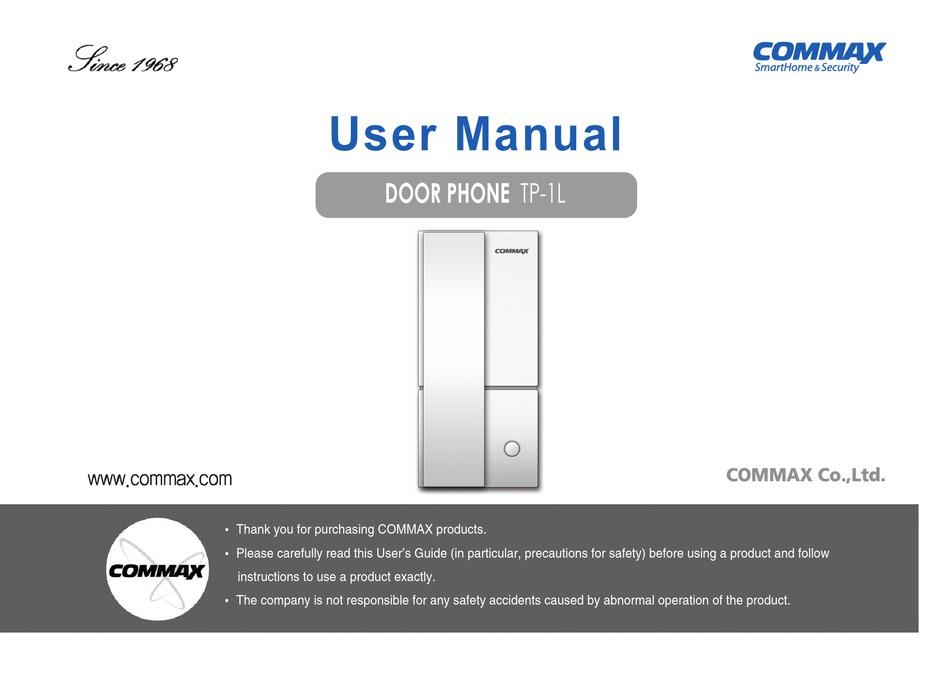 Commax Tp 1l User Manual Pdf, Commax Intercom Wiring Diagram Pdf