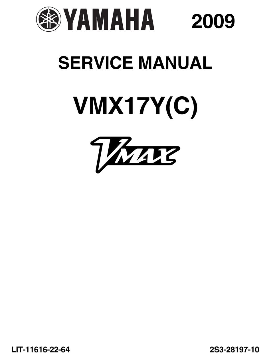 Yamaha Vmax Vmx17c 2009 Service Manual