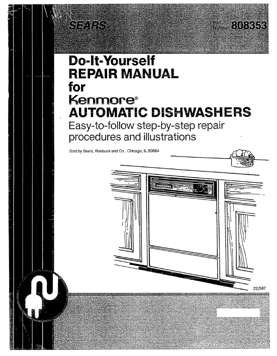 Kenmore 808353 Repair Manual Pdf Download Manualslib