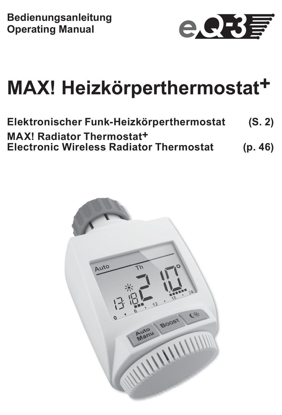 eQ-3 CC-RT-M-EQ Heizkörperthermostat elektronisch