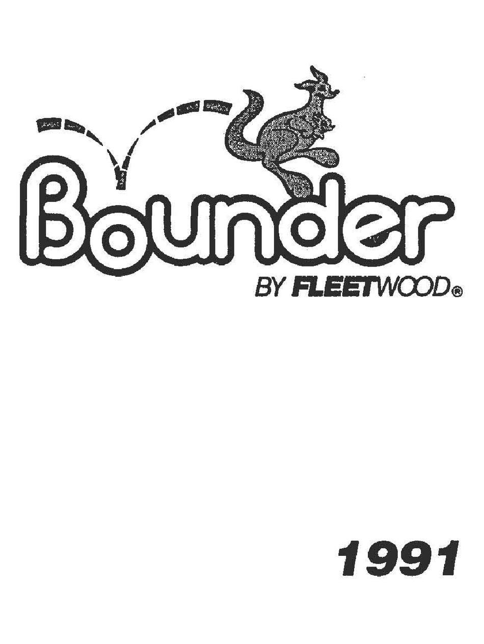 Fleetwood Bounder 1991 Manual Pdf Download Manualslib