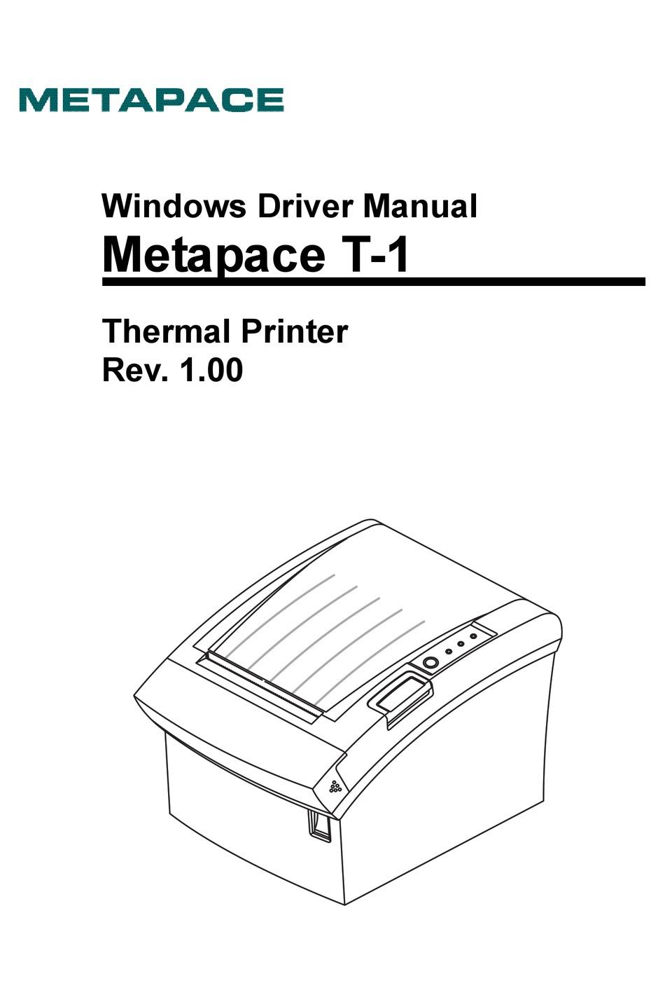 Download Metapace Printers Driver