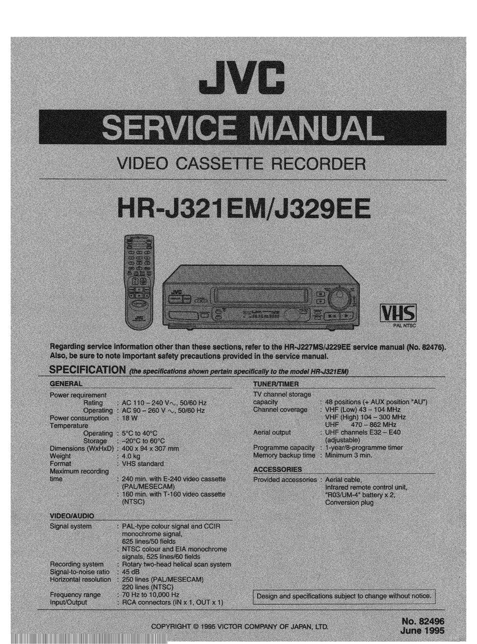 JVC XL-R2010BK SERVICE MANUAL Pdf Download | ManualsLib