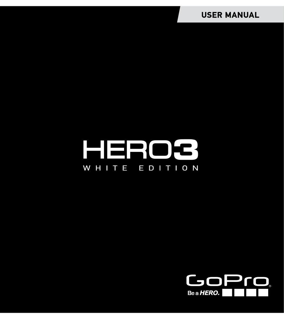 manual gopro hero 3 pdf español