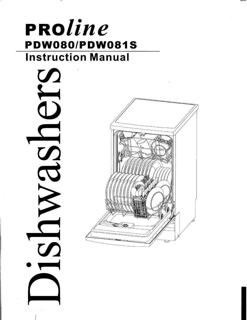 Proline Pdw080 Instruction Manual Pdf Download Manualslib
