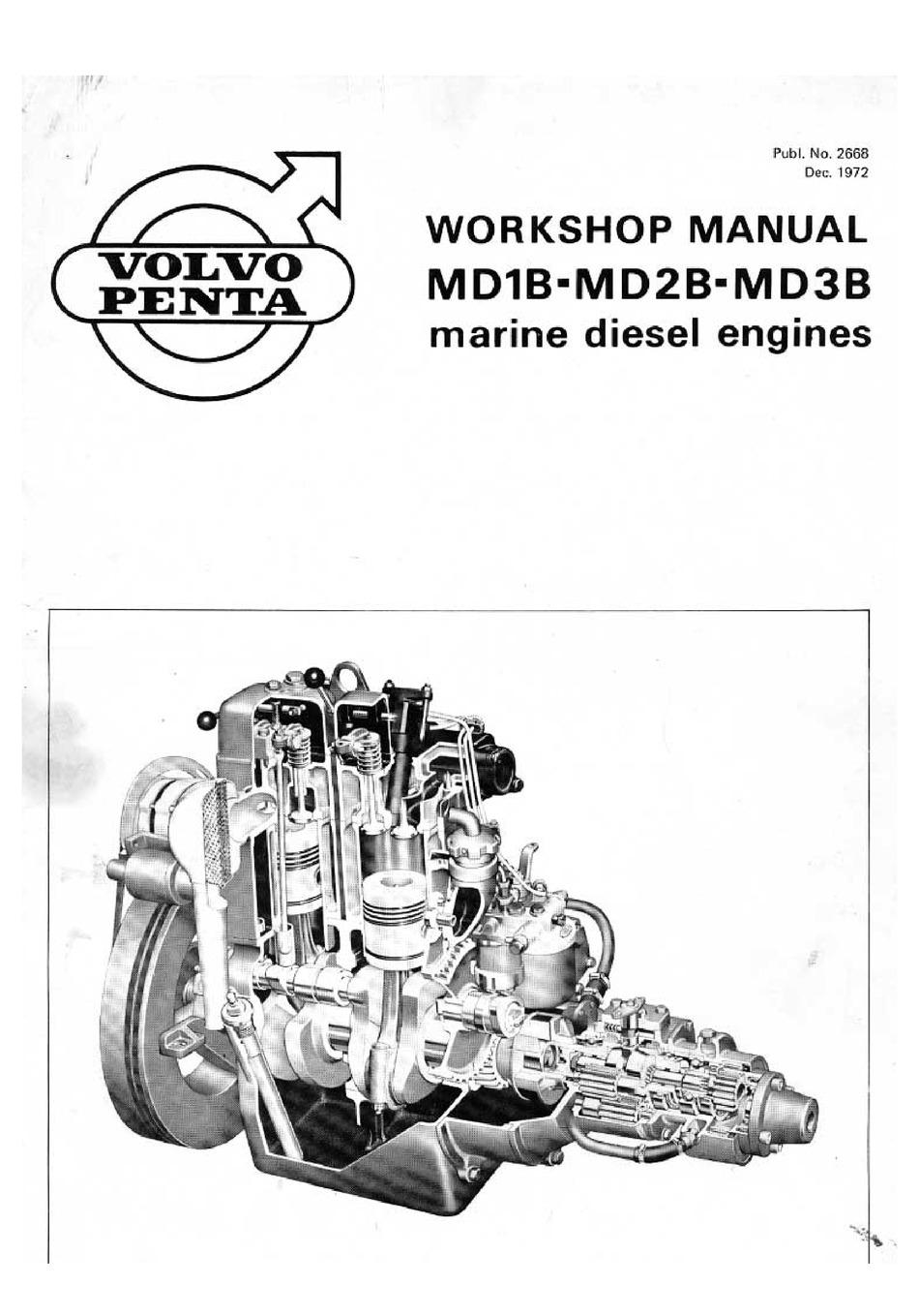 VOLVO PENTA MD1B WORKSHOP MANUAL Pdf Download | ManualsLib | Volvo Penta Ms2 Wiring Diagram |  | ManualsLib