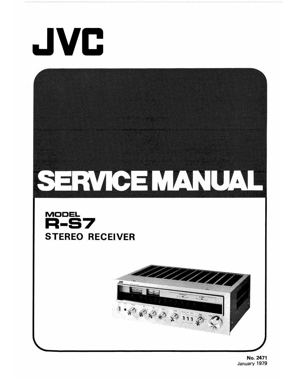 JVC KD-S713R SERVICE MANUAL Pdf Download   ManualsLib