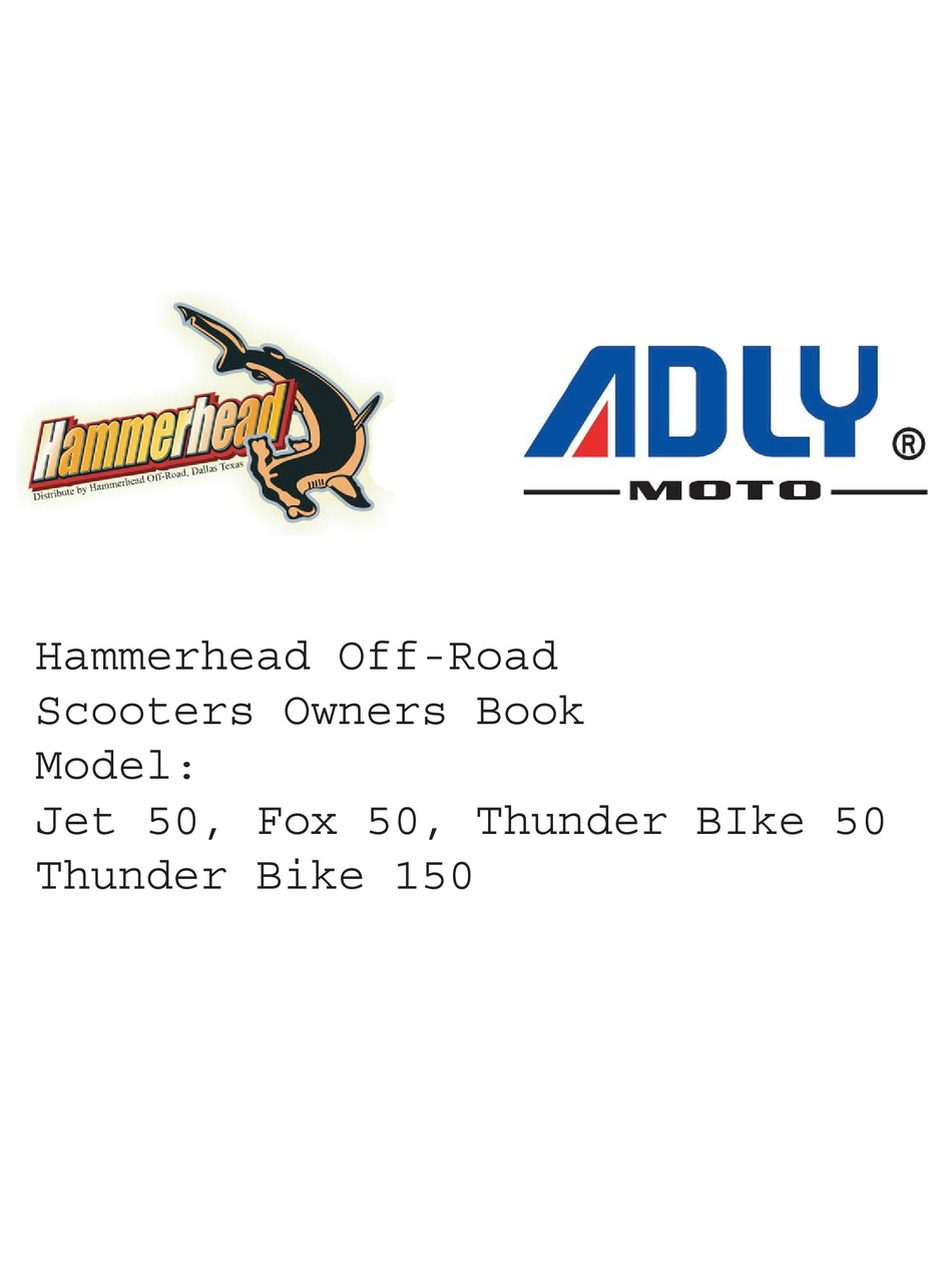 ADLY MOTO TB-50 OWNER'S BOOKLET Pdf Download | ManualsLib | Adly Thunderbike Scooter Wiring Diagram |  | ManualsLib