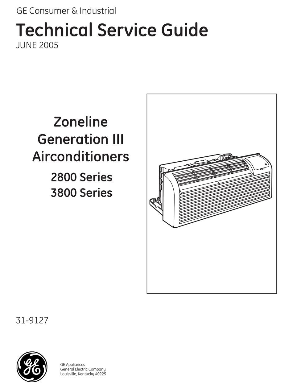GE ZONELINE GENERATION-3 2800 SERIES SERVICE MANUAL Pdf Download    ManualsLib   Ge Zoneline Wiring Diagram      ManualsLib