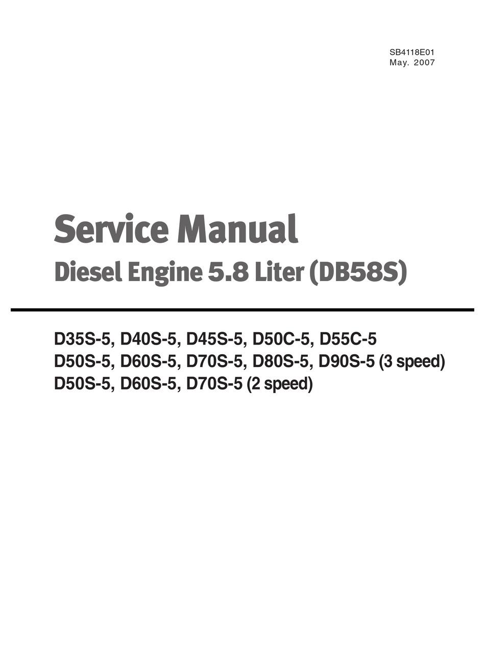 DOOSAN D35S-5 SERVICE MANUAL Pdf Download   ManualsLibManualsLib