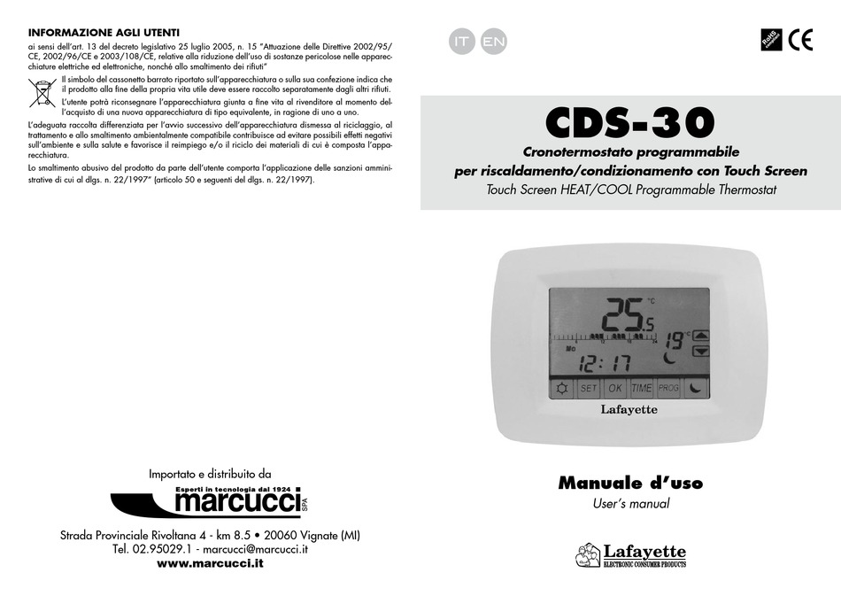 Lafayette Cds 30 User Manual Pdf Download Manualslib