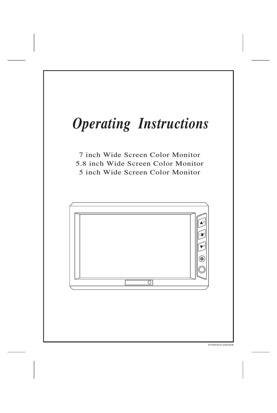 Necvox Fd5869 Operating Instructions