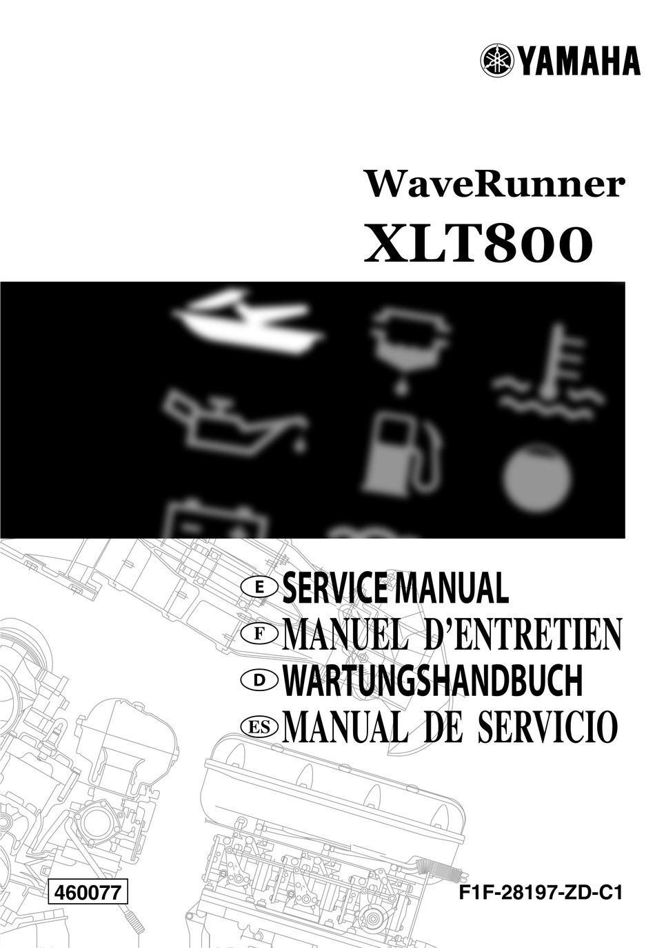 Yamaha Waverunner Xlt800 Service Manual Pdf Download Manualslib