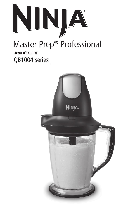 Ninja QB1004 Blender/Food Processor with 450-Watt Base