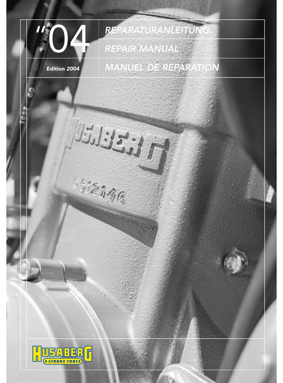 Husaberg Fe 450 Repair Manual Pdf Download Manualslib