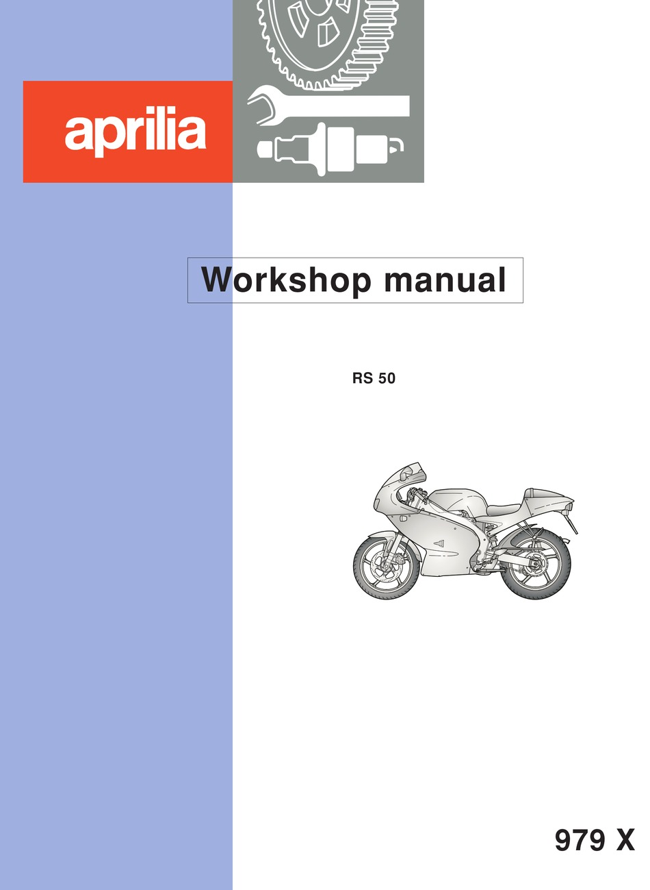 Aprilia Rs 50 Workshop Manual Pdf Download Manualslib