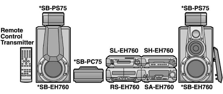 Technics sb eh 760
