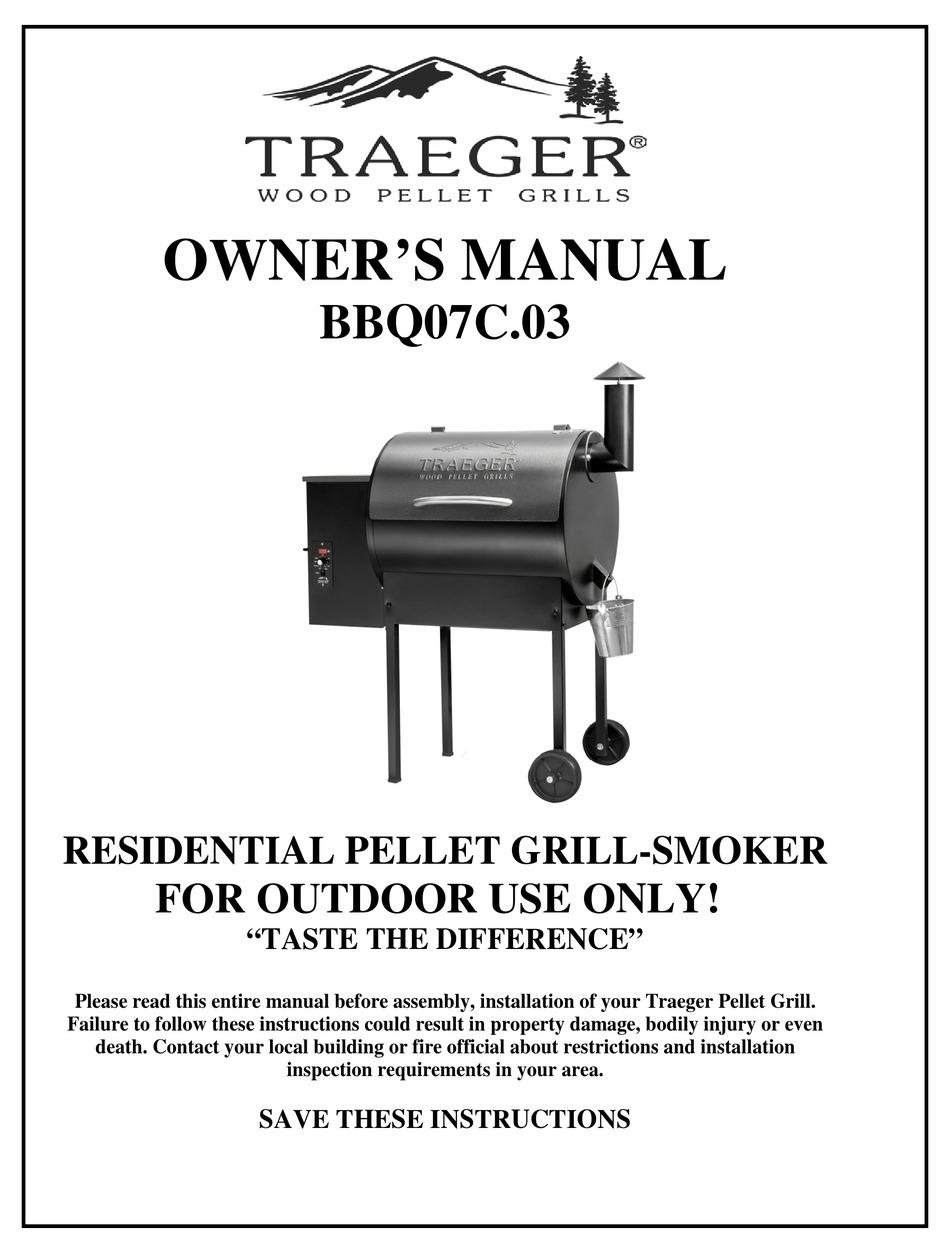 TRAEGER BBQ07C.03 OWNER'S MANUAL Pdf Download | ManualsLib | Bbq 055 Smoker Wiring Diagram |  | ManualsLib
