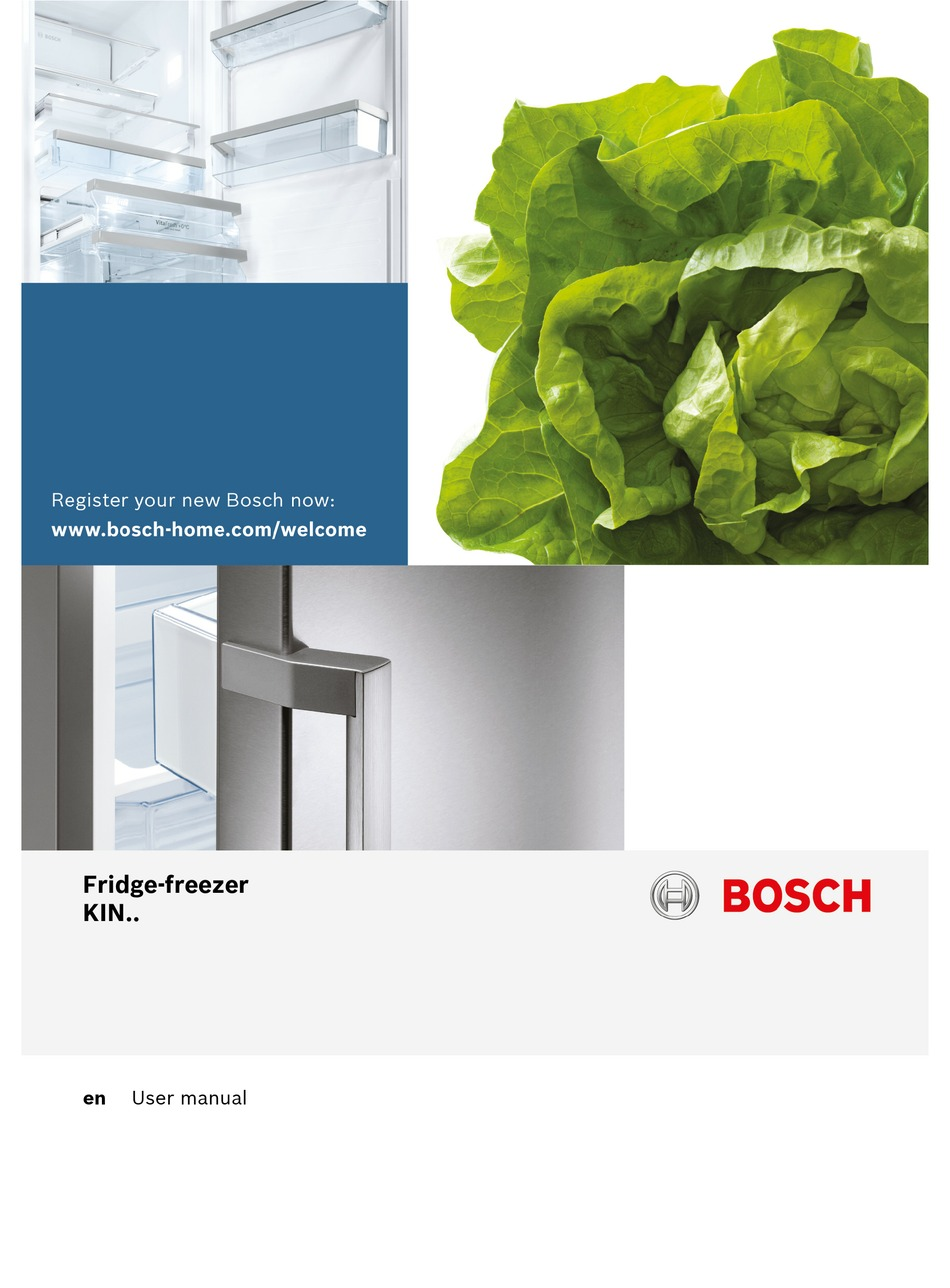 Bosch Kin86ad30g User Manual Pdf Download Manualslib