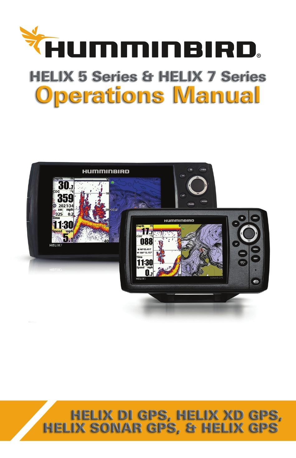 HUMMINBIRD HELIX 40 SERIES OPERATION MANUAL Pdf Download   ManualsLib