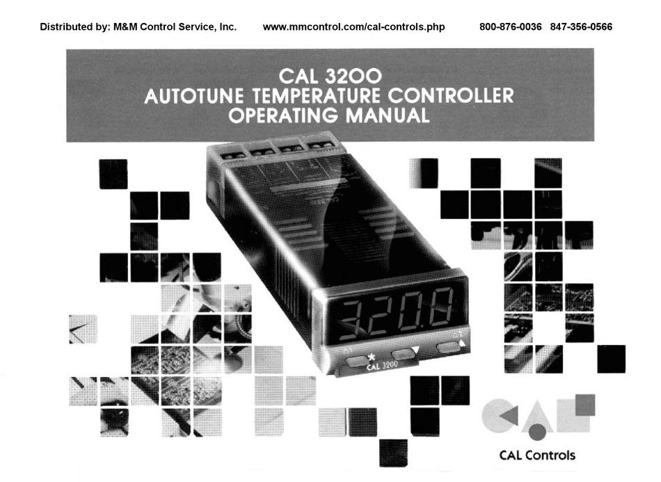 CAL Controls 3200 PID Temperature Controller Used