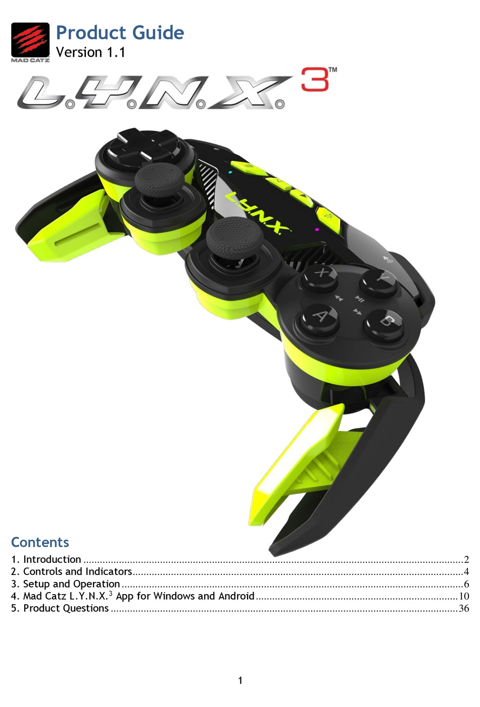 Mad Catz Driver Download For Windows