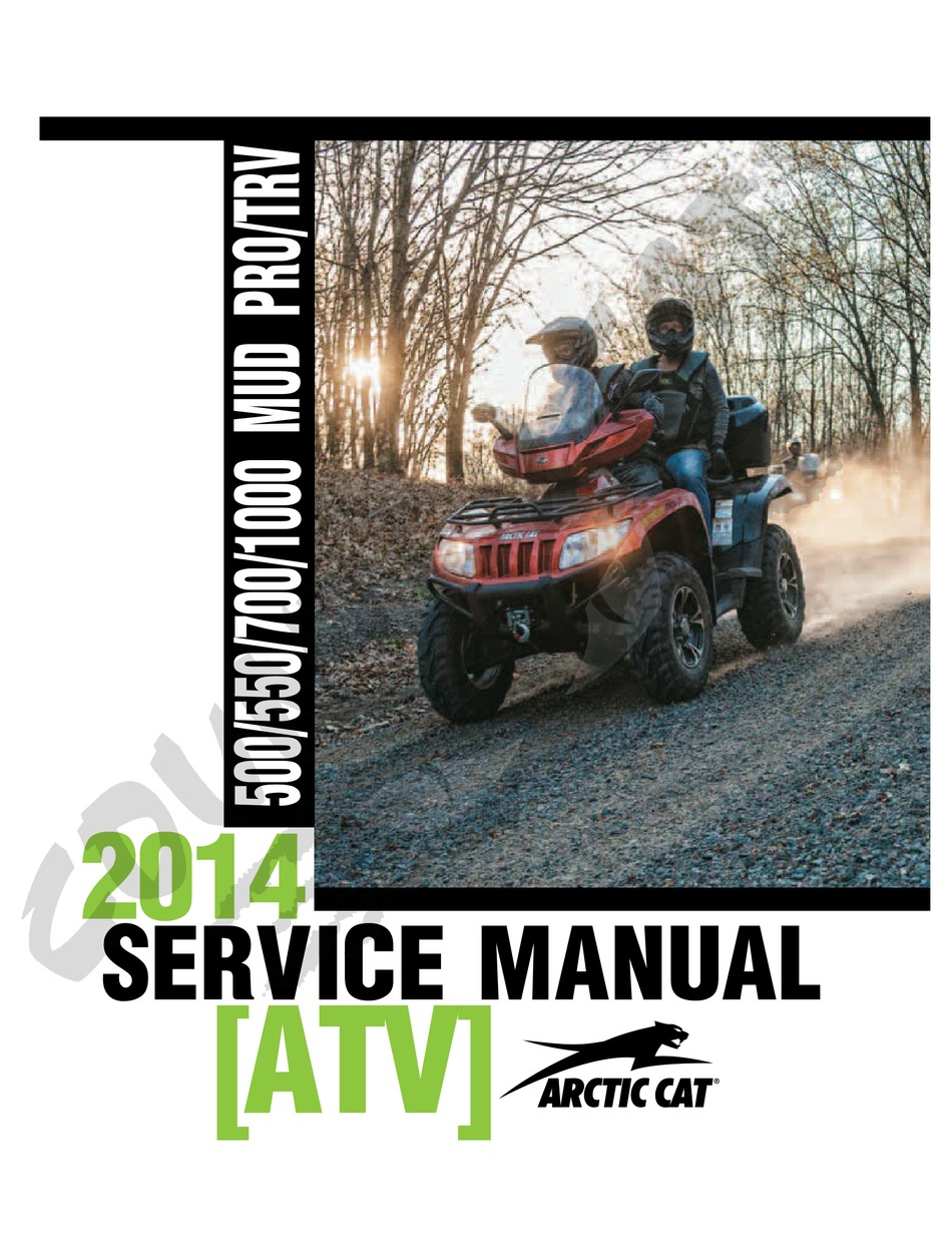 Arctic Cat 500 Service Manual Pdf Download Manualslib