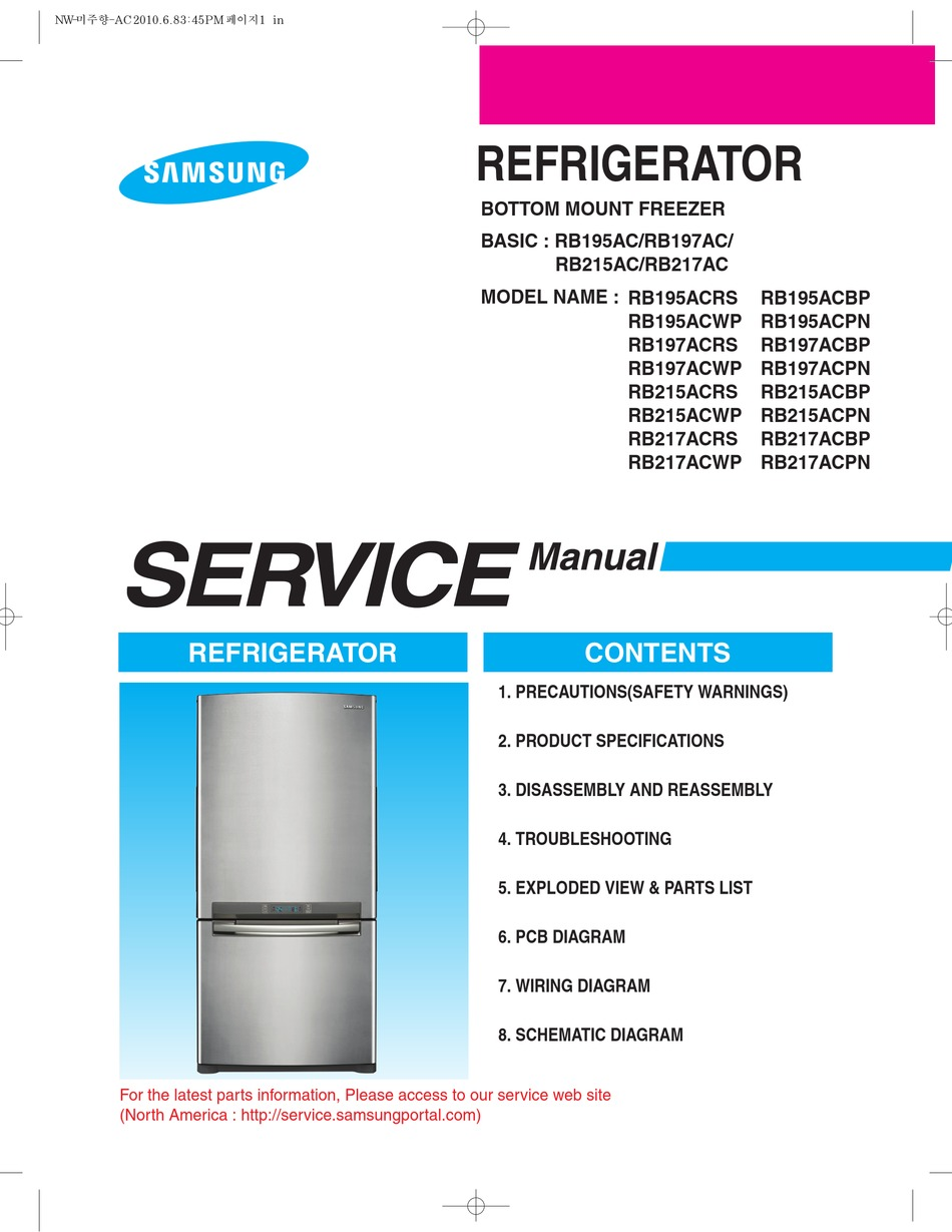 SAMSUNG RB195ACRS SERVICE MANUAL Pdf Download | ManualsLib | Wiring Samsung Diagram Refrigerator Rb217a |  | ManualsLib