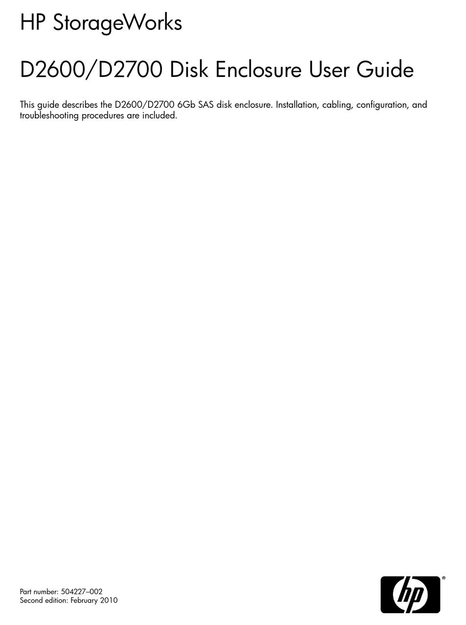 Hp D2700 User Manual Pdf Download Manualslib