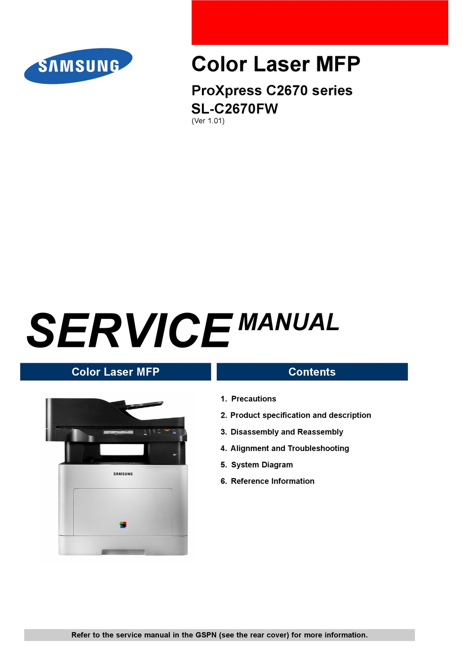 Samsung Sl C2670fw Service Manual Pdf Download Manualslib