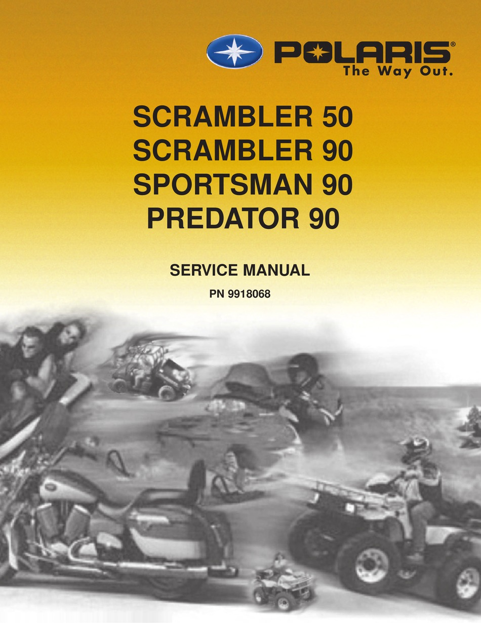Polaris Scrambler 50 Service Manual Pdf Download Manualslib