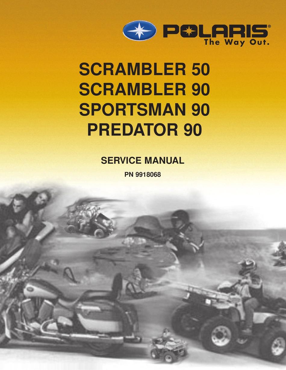 Polaris Scrambler 50 Service Manual Pdf