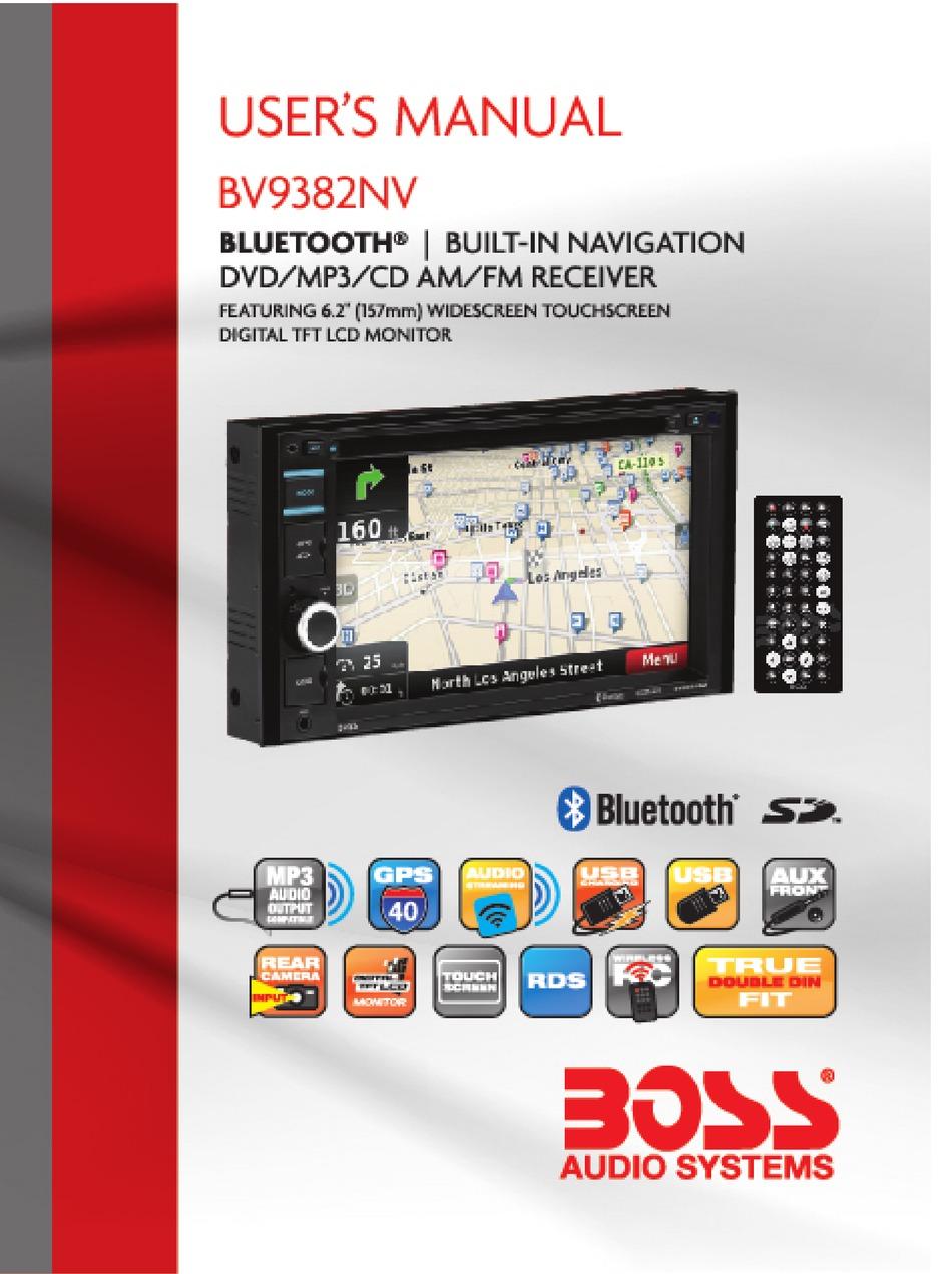 BOSS AUDIO SYSTEMS BV40NV USER MANUAL Pdf Download   ManualsLib