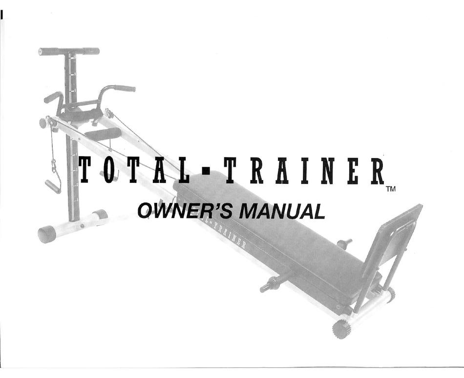 Bayou Fitness Total Trainer Owner S Manual Pdf Download Manualslib