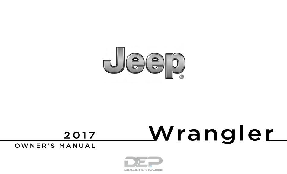 jeep wrangler 2017 owner's manual pdf download | manualslib  manualslib