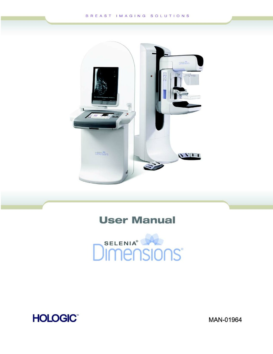 Hologic Selenia Dimensions User Manual Pdf Download Manualslib
