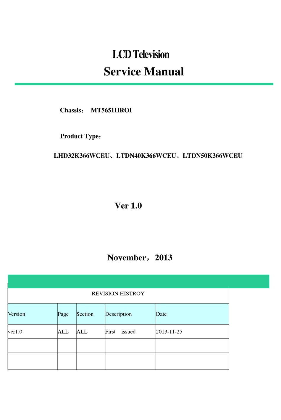 Hisense Lhd32k366wceu Service Manual Pdf Download Manualslib