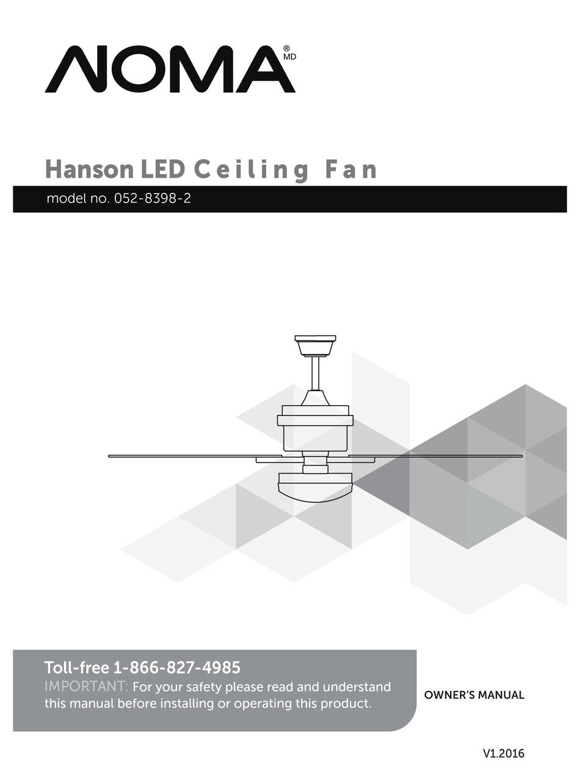 Noma 052 8398 2 Owner S Manual Pdf Download Manualslib