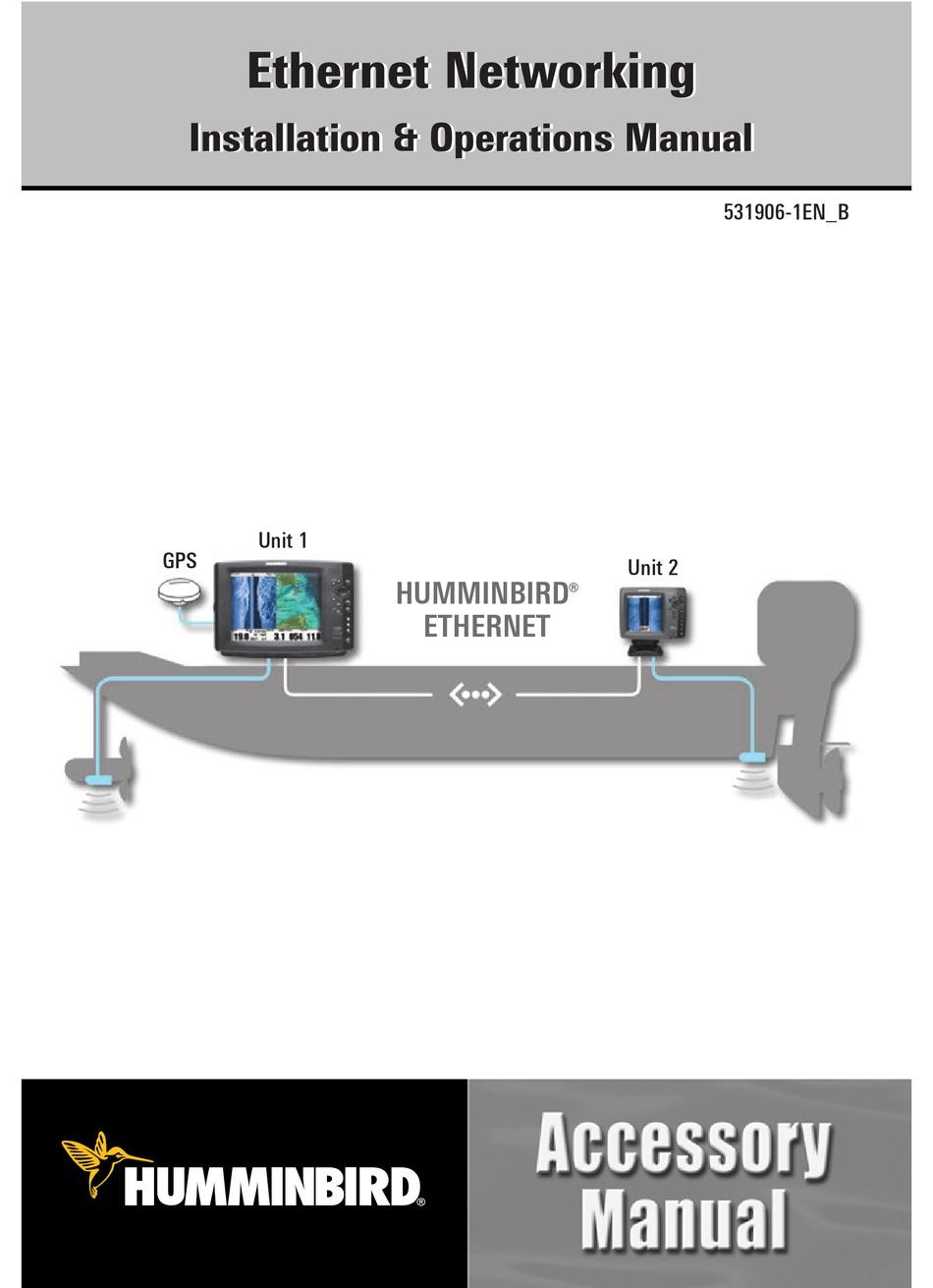 HUMMINBIRD 40 SERIES INSTALLATION & OPERATION MANUAL Pdf Download ...
