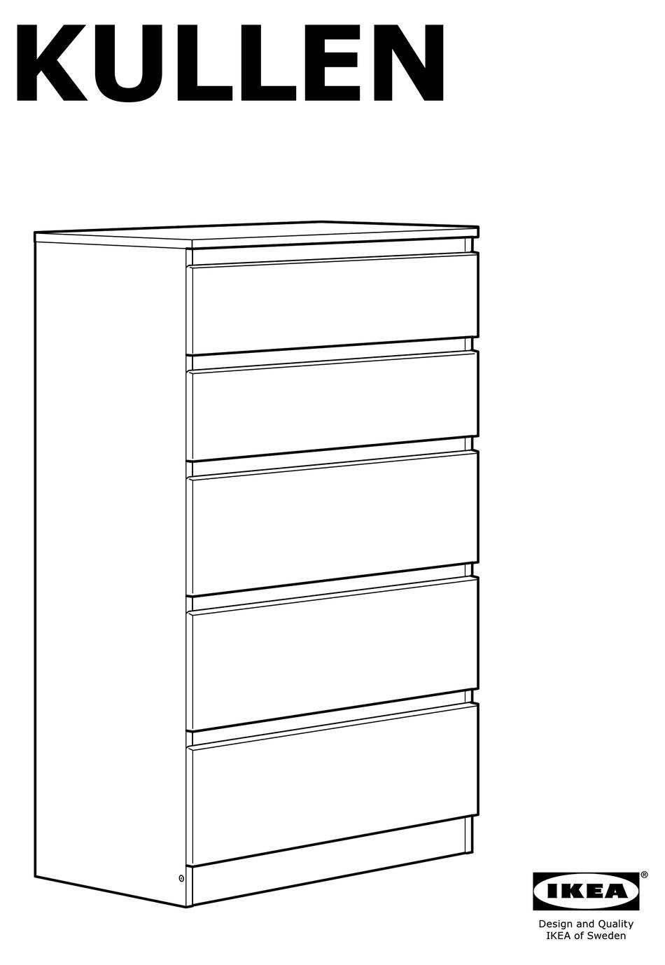 Ikea Kullen Embly Instructions