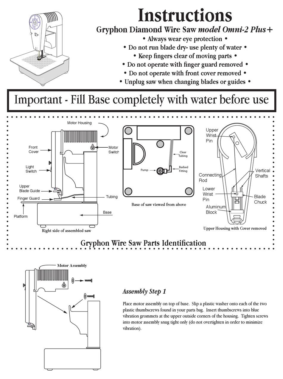 GRYPHON OMNI-2 PLUS+ INSTRUCTIONS Pdf Download   ManualsLib   Gryphon Wiring Diagram      ManualsLib