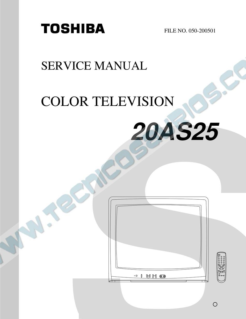 Toshiba 20as25 Service Manual Pdf Download Manualslib