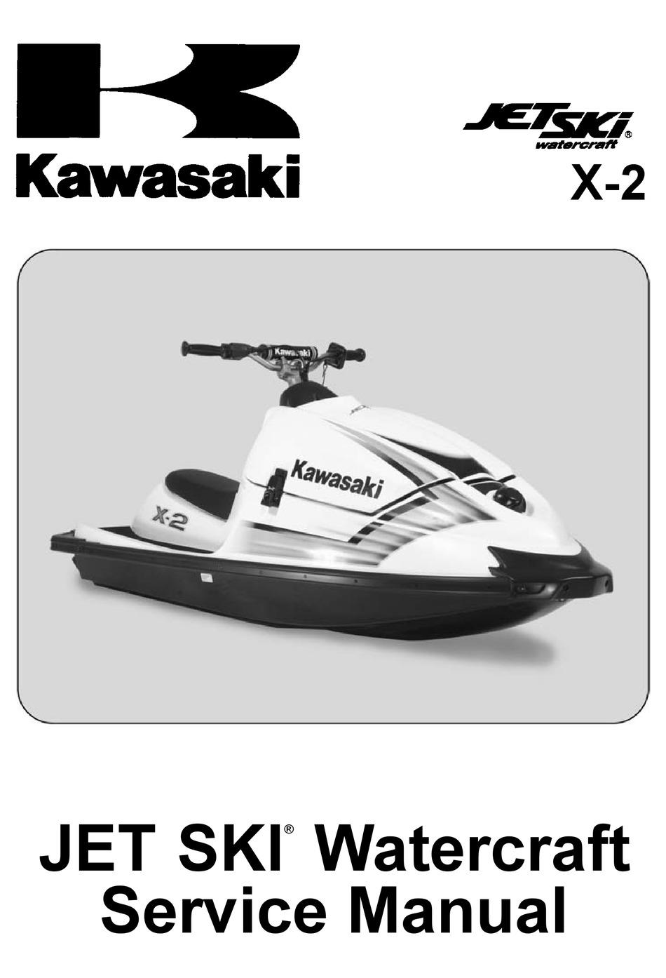 1996 2002 Kawasaki Jet Ski 1100zxi Watercraft Service Manual Tradebit